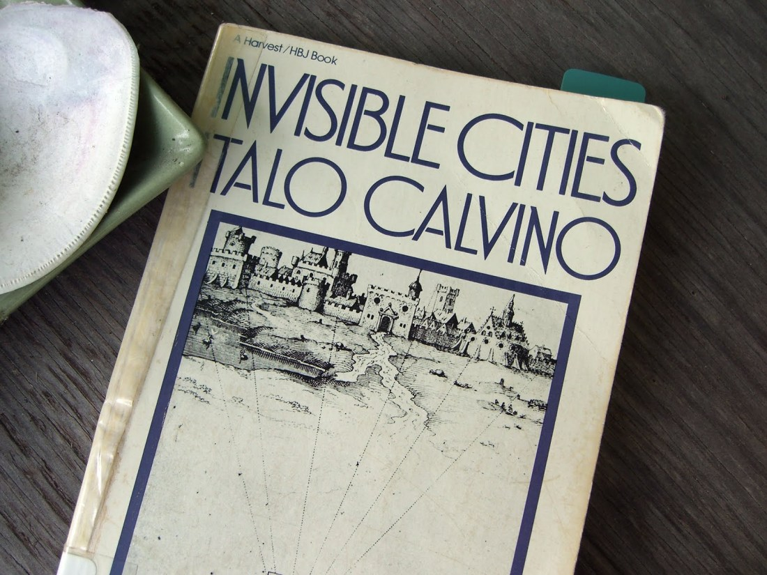 Bending Bookshelf - Invisible Cities, Italo Calvino, 1972