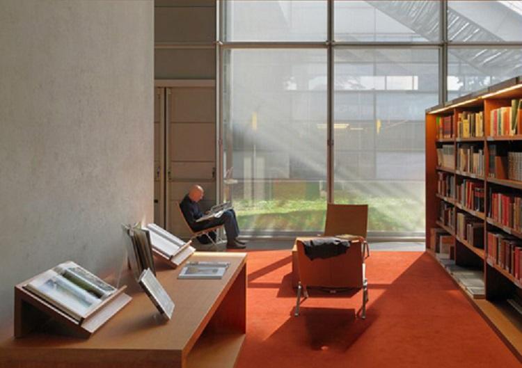 (法國國家圖書館研究書庫閱覽室 © Alain Goustard / BnF)